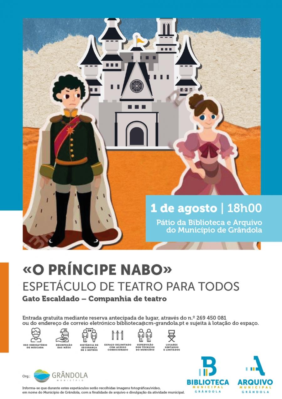Espetáculo de Teatro para Todos | Pátio da Biblioteca e Arquivo de Grândola  ...
