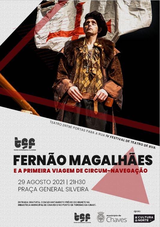 """TEATRO """"FERNÃO MAGALHÃES ..."""