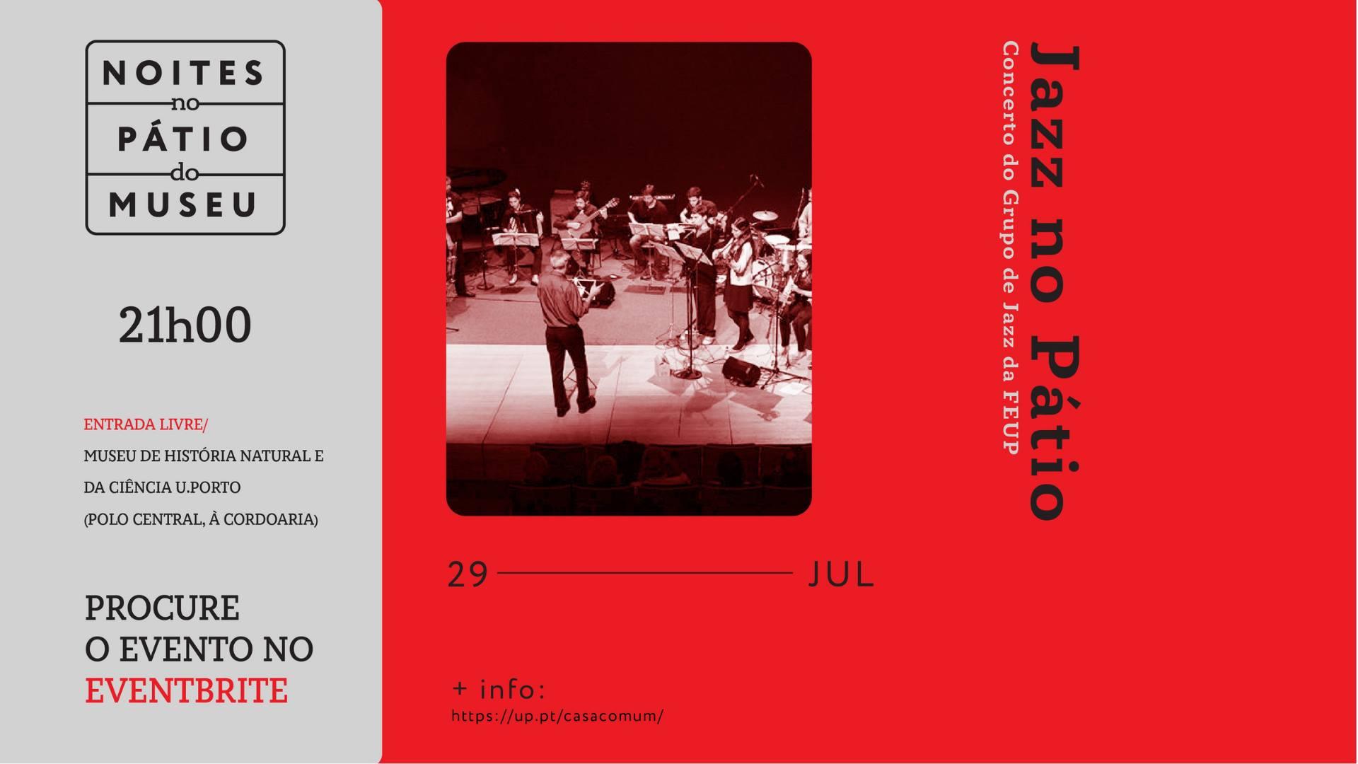 Jazz no Pátio: Concerto do Grupo de Jazz da FEUP