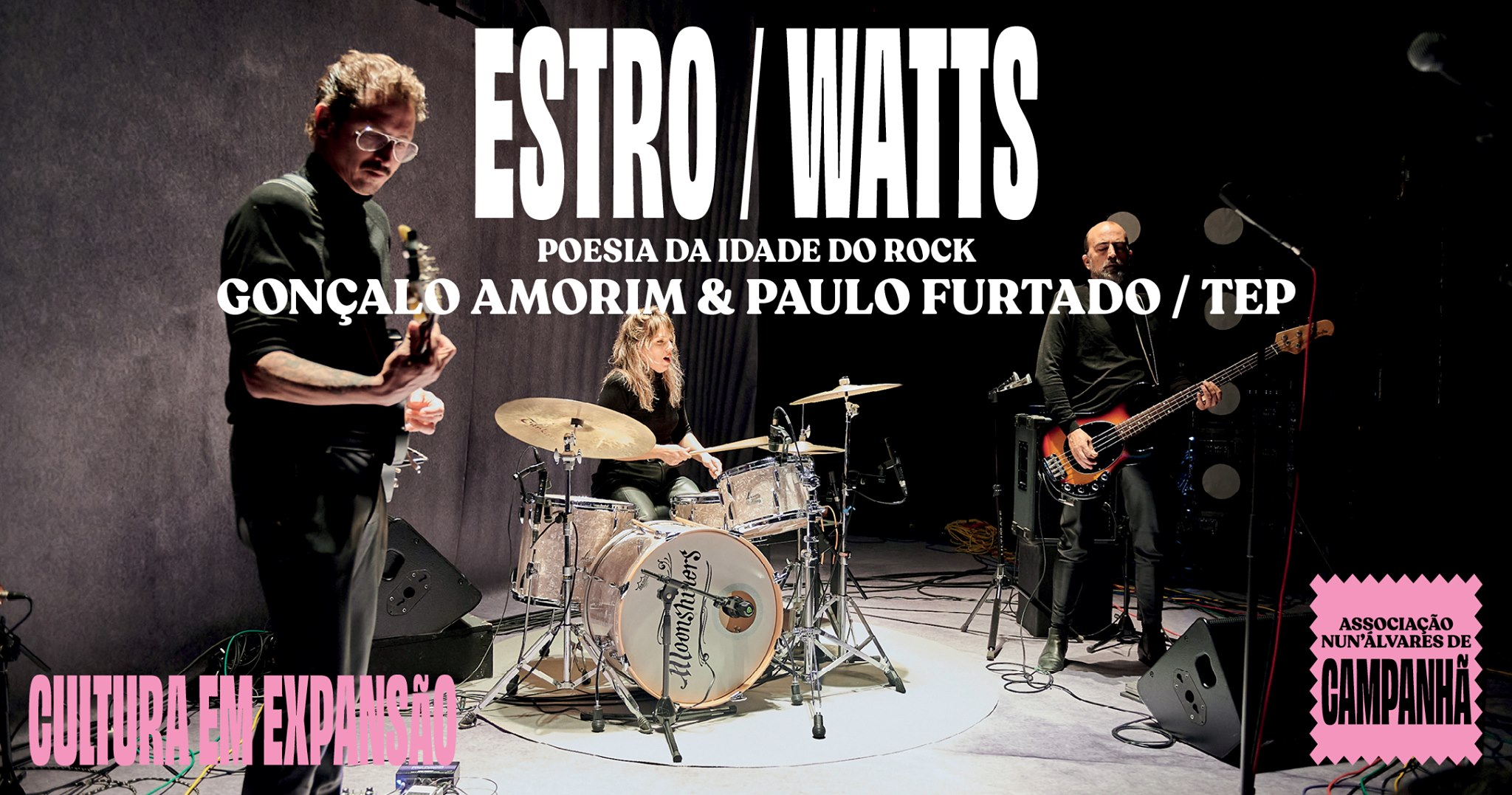 ESTRO / WATTS - POESIA DA IDADE DO ROCK (CAMPANHÃ)