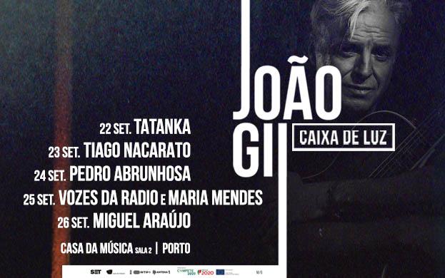 João Gil apresenta Caixa de Luz - Porto