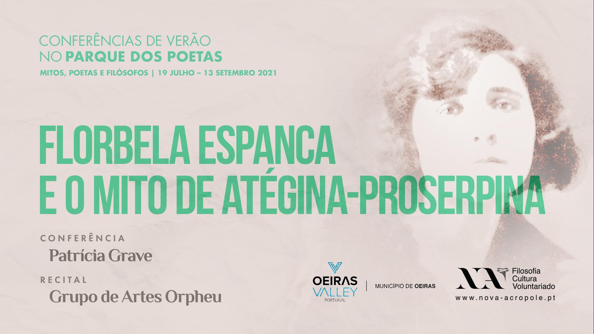 II Ciclo de Conferências de Verão: Florbela Espanca e o mito de Atégina-Proserpina