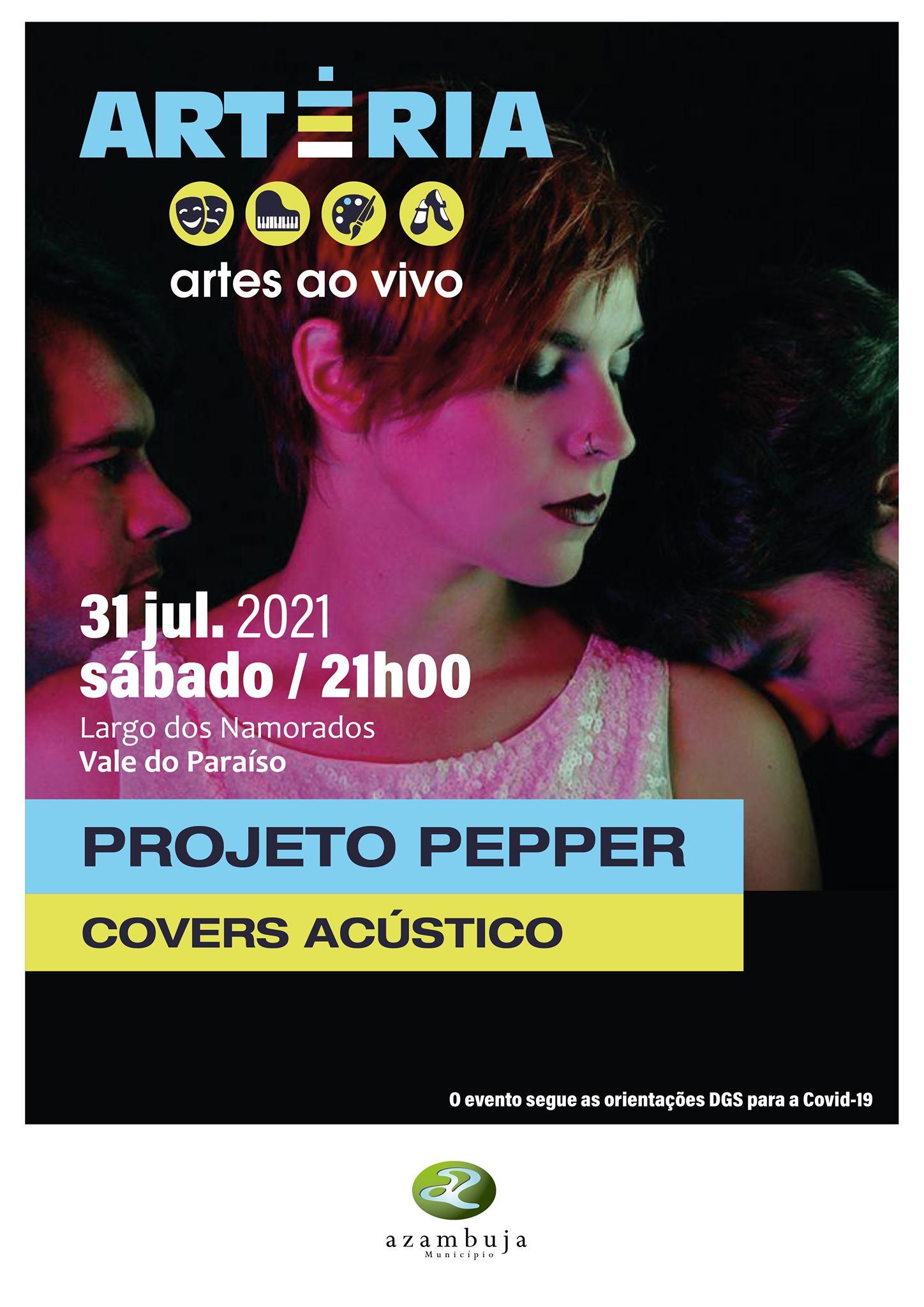 Programa 'Artéria - Artes ao Vivo' - Projeto Pepper - Covers Acústico