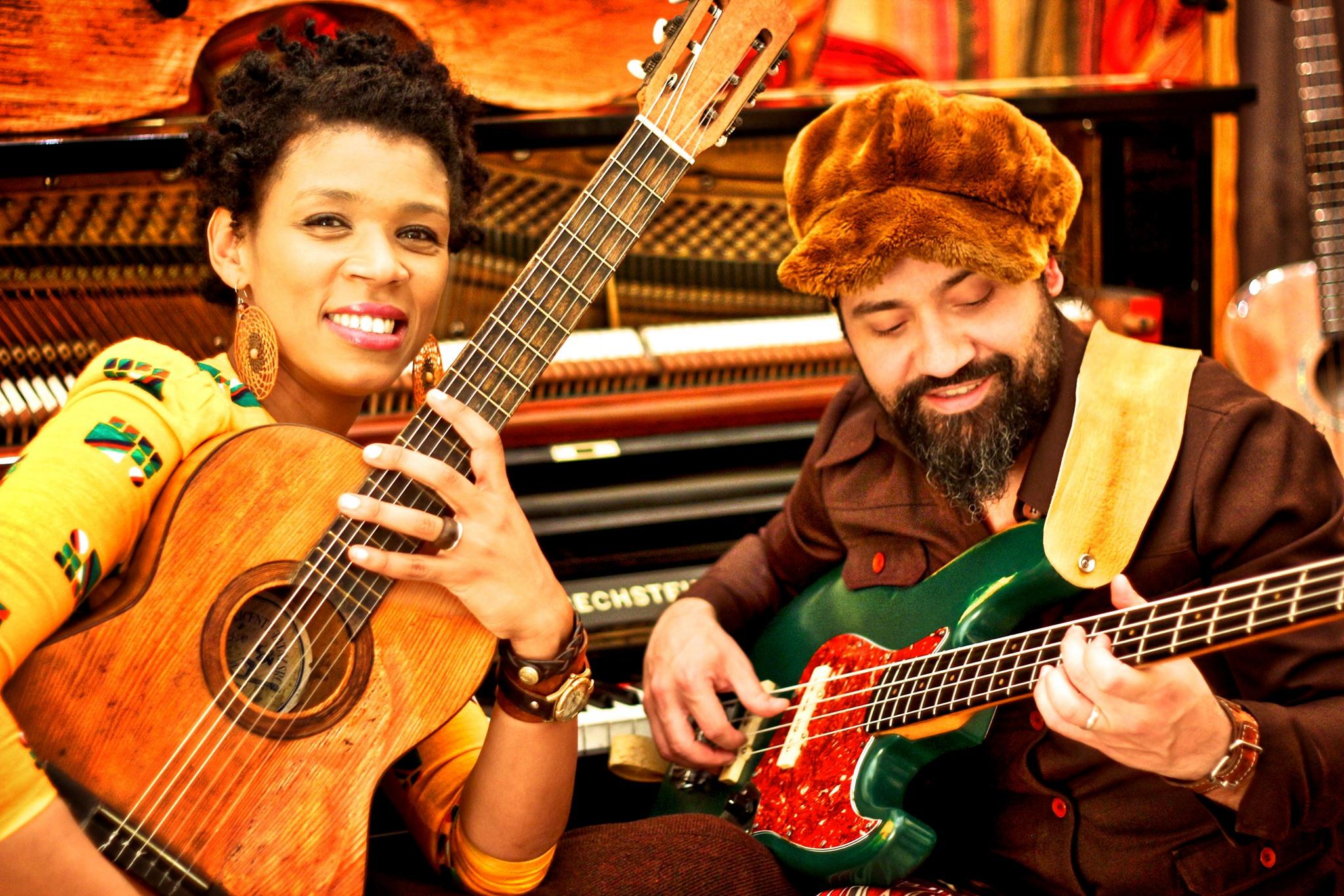 XJazz - Carmen Souza & Théo Pascal