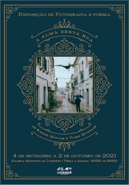"""Exposição de Fotografia e Poesia """"A Alma desta Rua"""" de Rafael Marlvar…"""