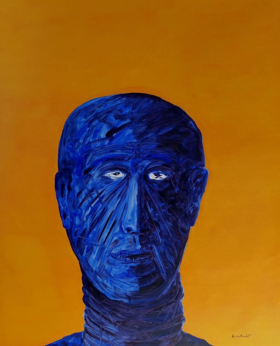 Exposição pintura 'Imenso Vazio' de Aristides Meneses