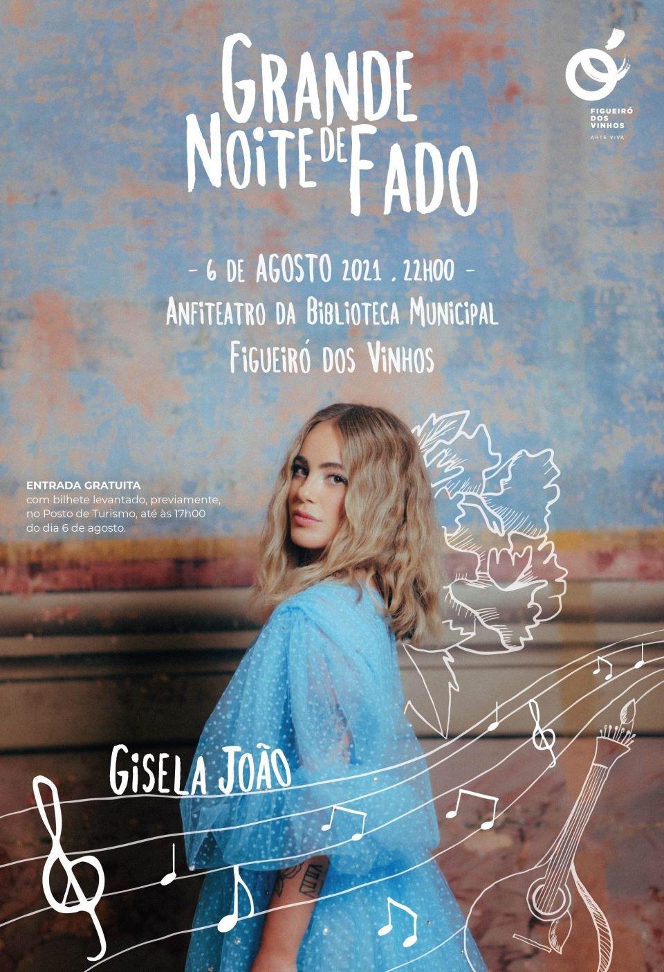 Gisela João na Grande Noite de Fado 2021