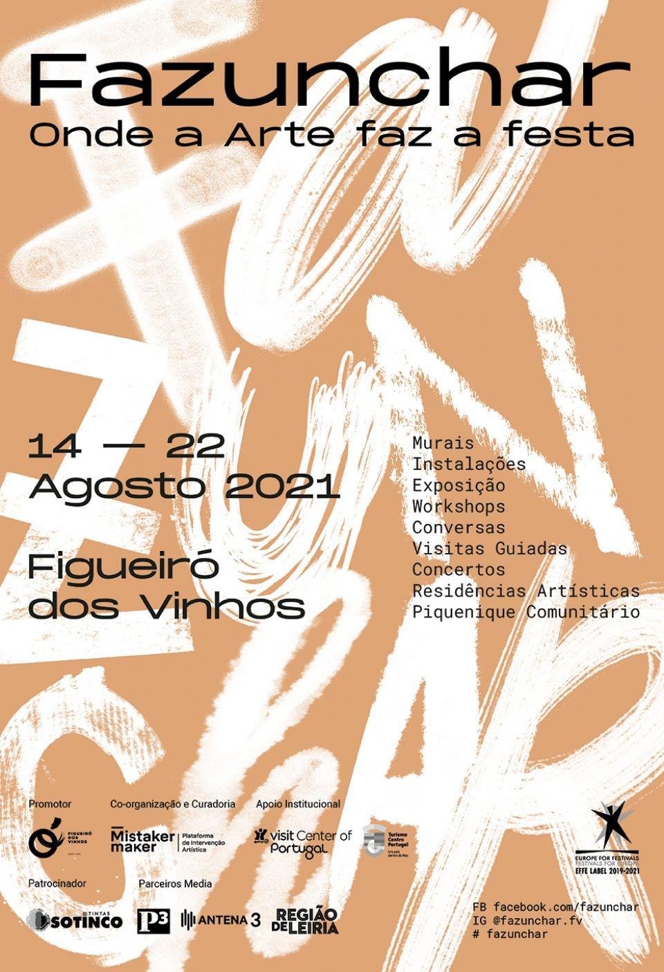 FAZUNCHAR 2021 - Festival de Arte Urbana de Figueiró dos Vinhos