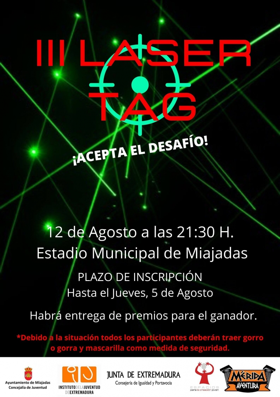 III Edición de Laser Tag