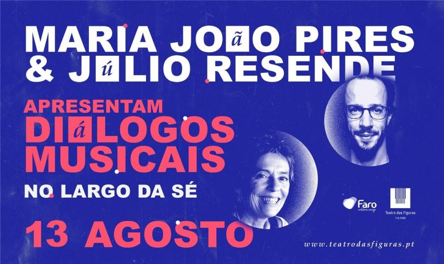 Maria João Pires e Júlio Resende apresentam Diálogos Musicais