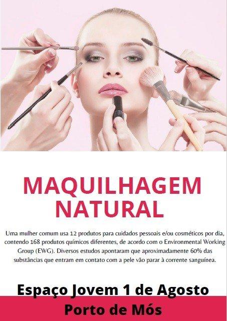Workshop de Maquilhagem Natural