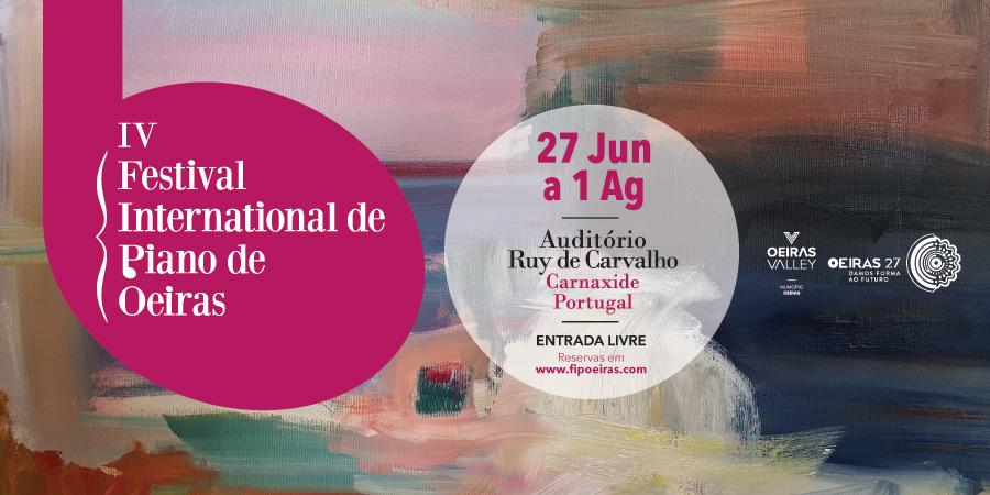 IV Festival Internacional de Piano de Oeiras 2021   António Rosado