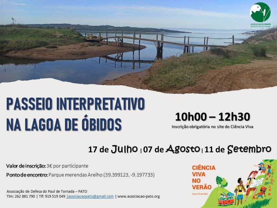 Passeio Interpretativo na Lagoa de Óbidos