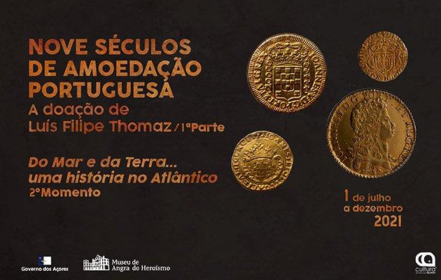 Nove séculos de amoedação portuguesa - A doação de Luís Filipe Thomaz