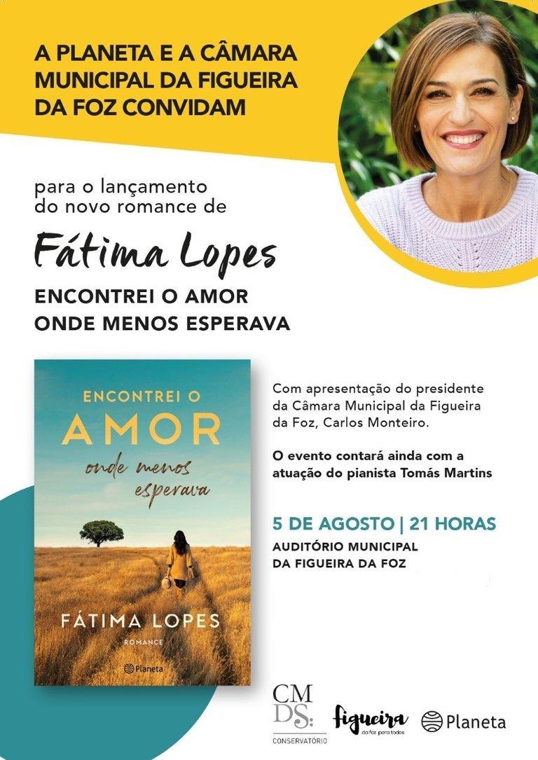 Apresentação do livro «Encontrei o Amor onde menos esperava», Fátima Lopes