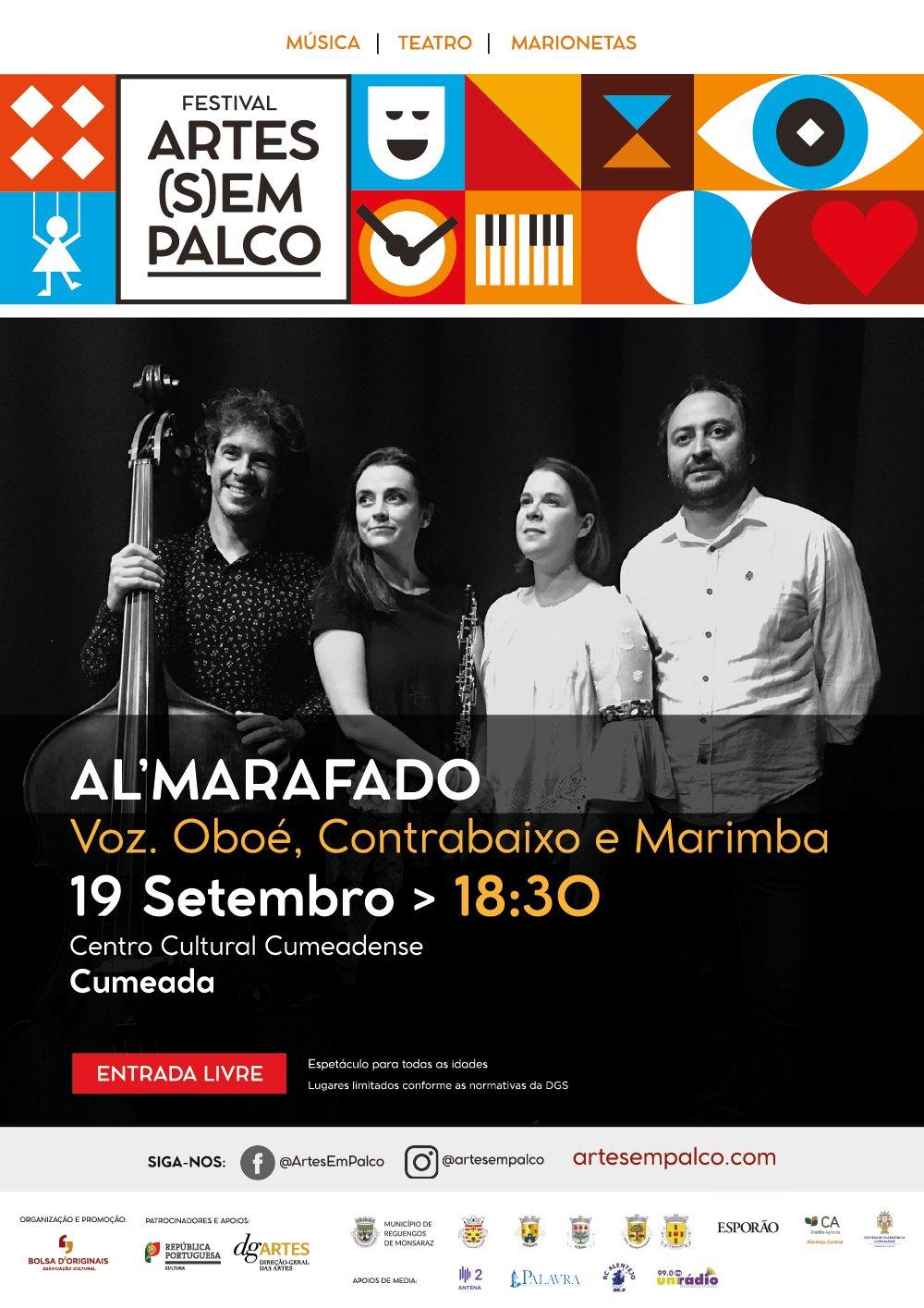 Festival Arte(s)em Palco: Al'Marafado