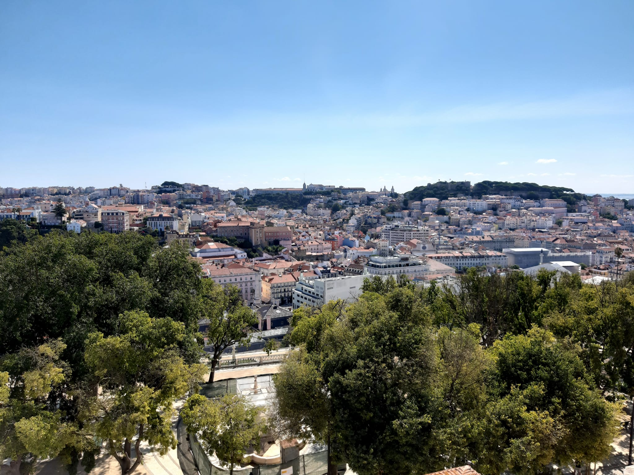 Lisboa vista de cima – Convento de São Pedro de Alcântara