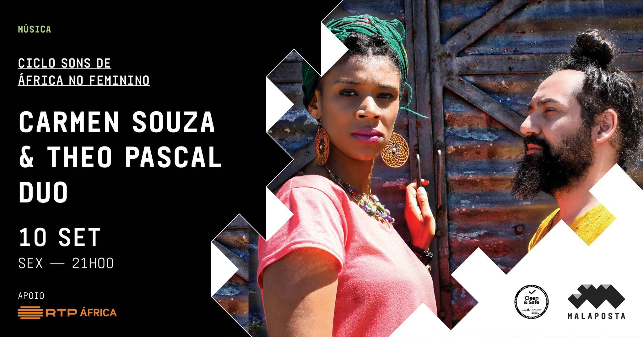 Música | Carmen Souza e Theo Pascal | Ciclo Sons de África no Feminino