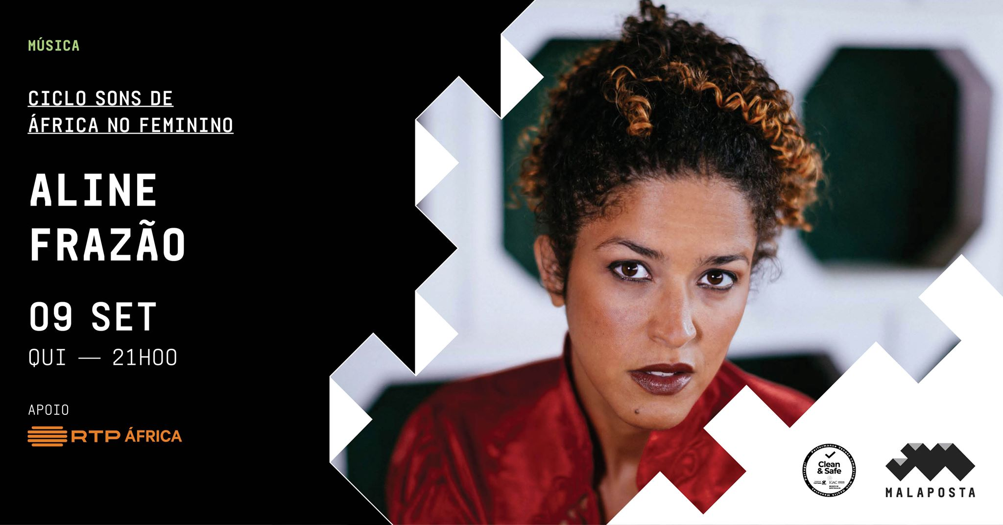Música   Aline Frazão   Ciclo Sons de África no Feminino