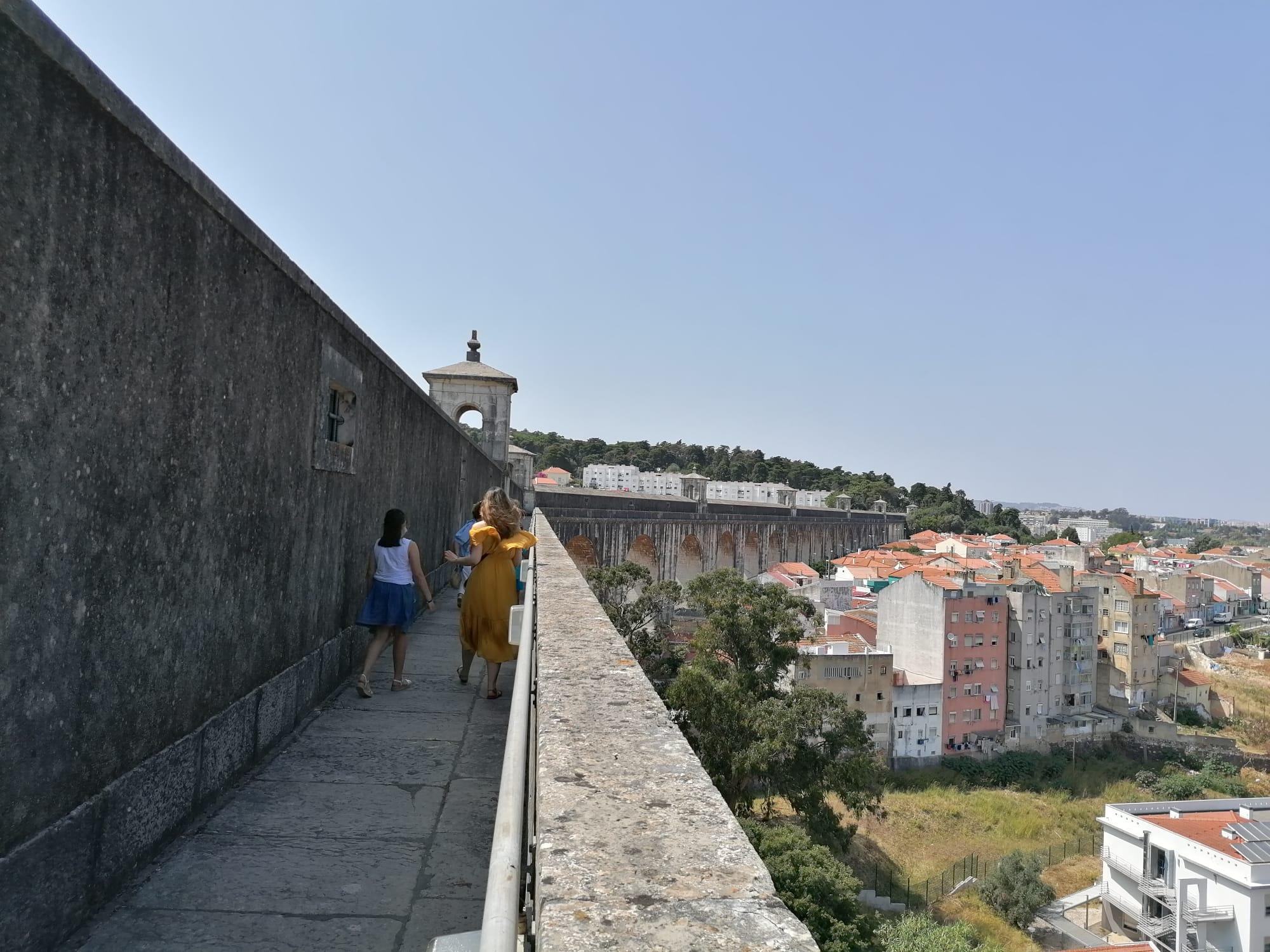 Lisboa vista de cima – Do Aqueduto ao panorâmico do Monsanto