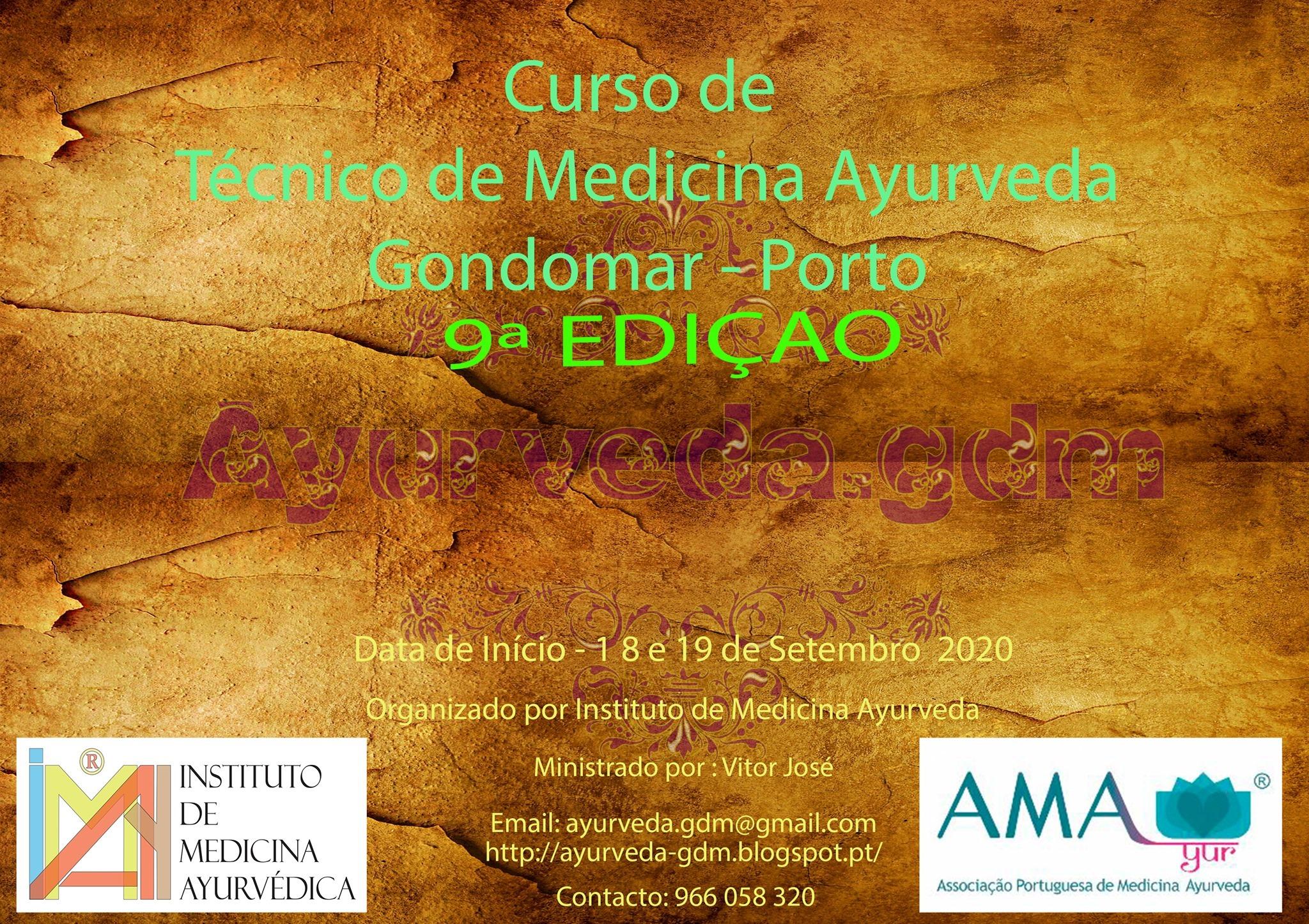 curso de Técnico de Medicina Ayurveda