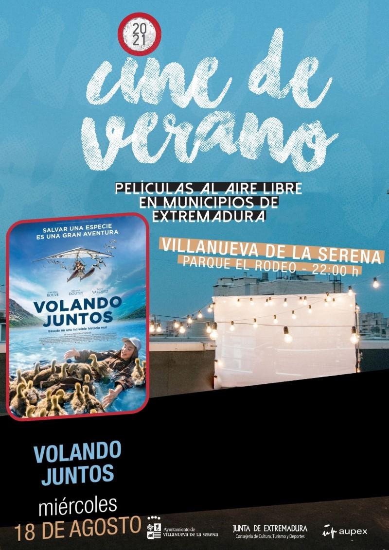 """Cine de verano """"Volando juntos"""""""