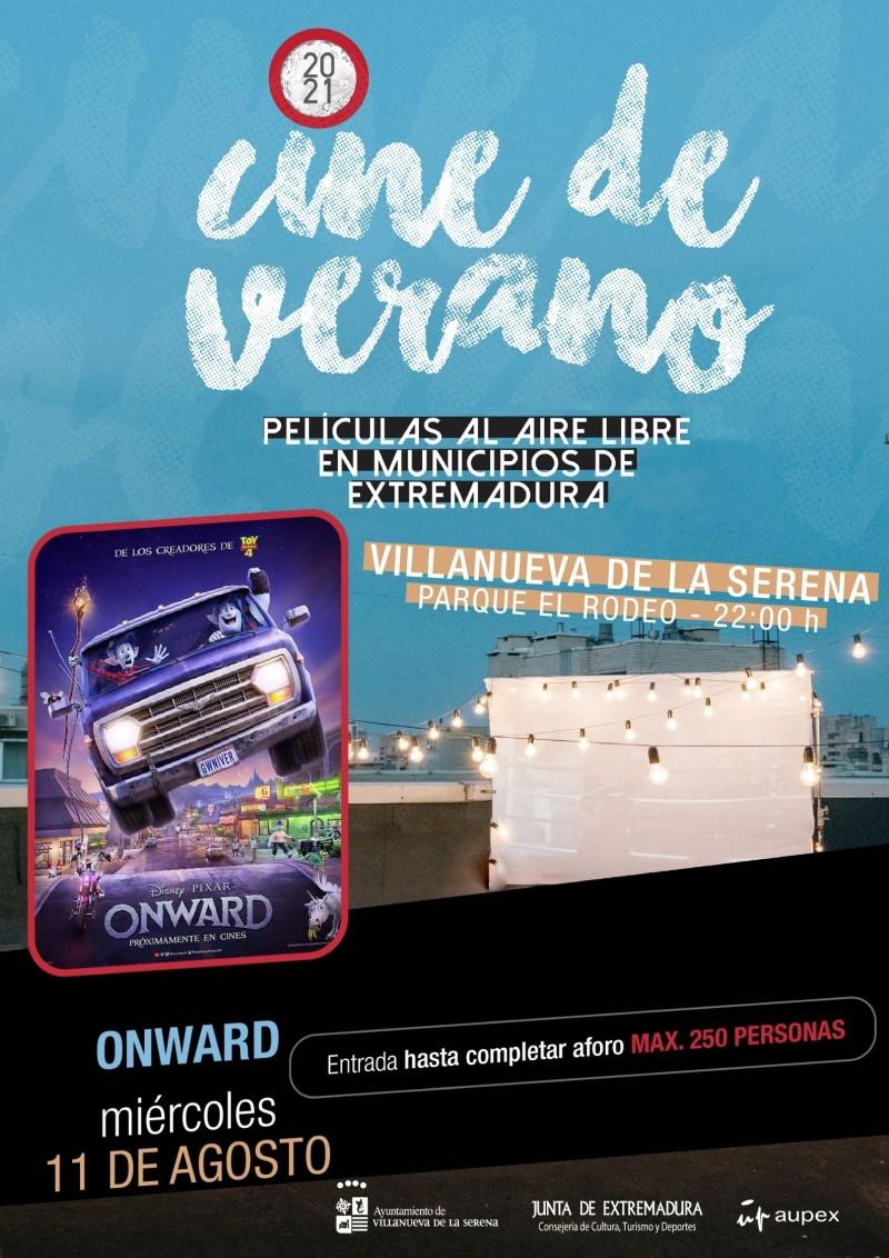 """Cine de verano 2021 """"Onward"""""""