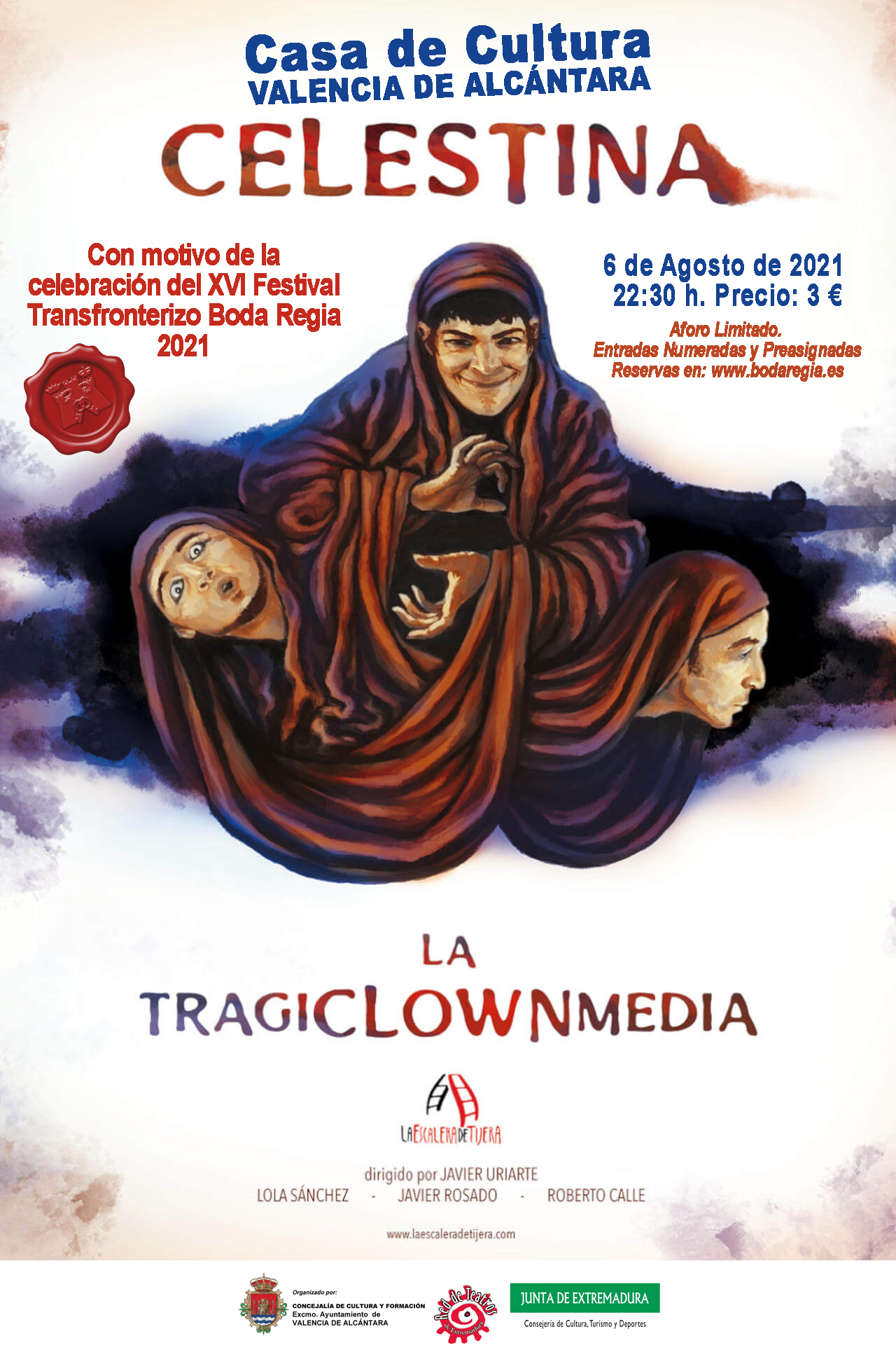 Teatro: CELESTINA, LA TRAGICLOWNMEDIA