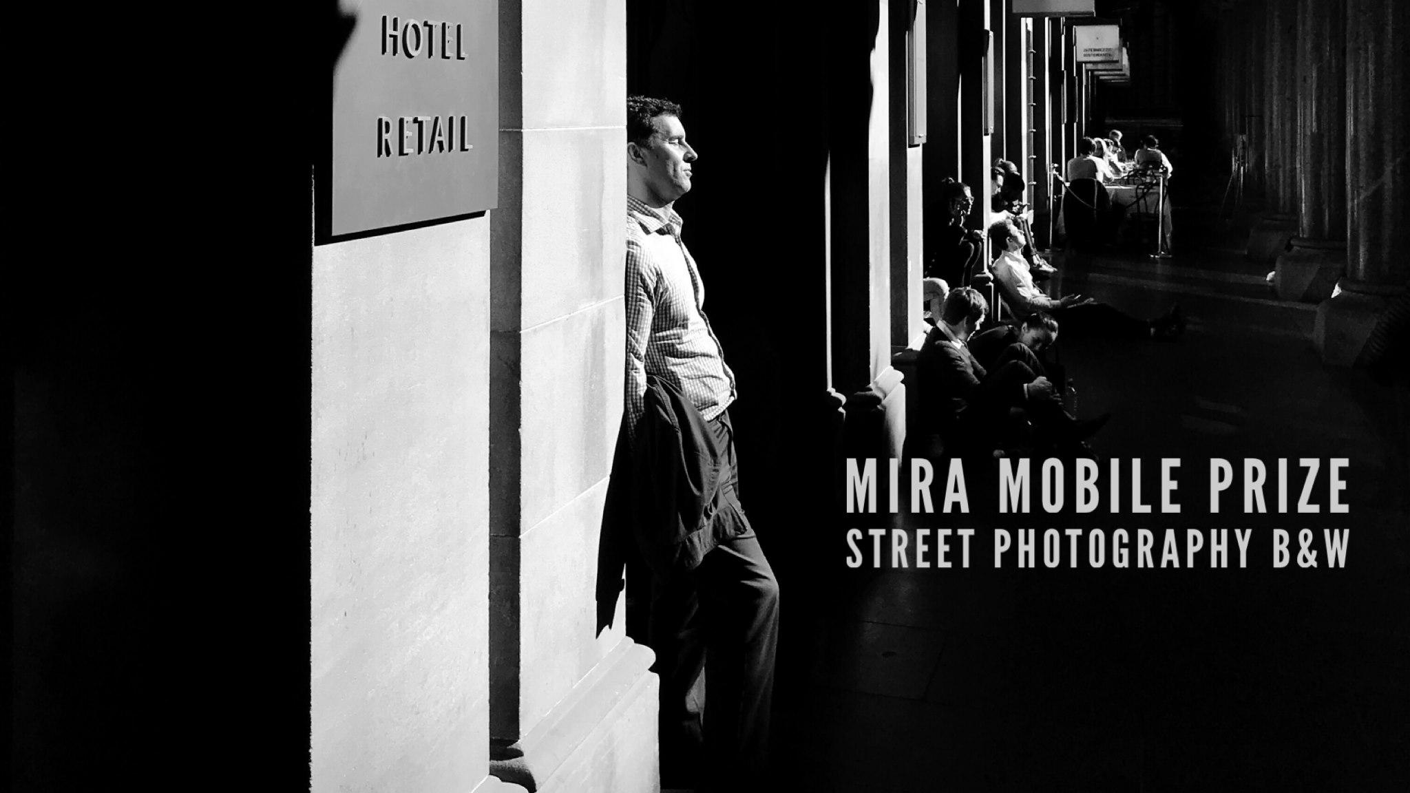 Abertura da 12ª edição do MIRA Mobile Prize Street Photography B&W
