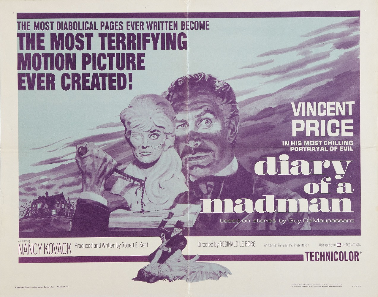 Ciclo de cinema «Diários»: Diário de um louco, de Reginald LeBorg