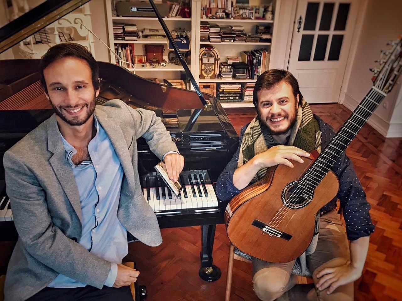 Passeando em Tom Jobim - Gonçalo Sousa e Gabriel Selvage