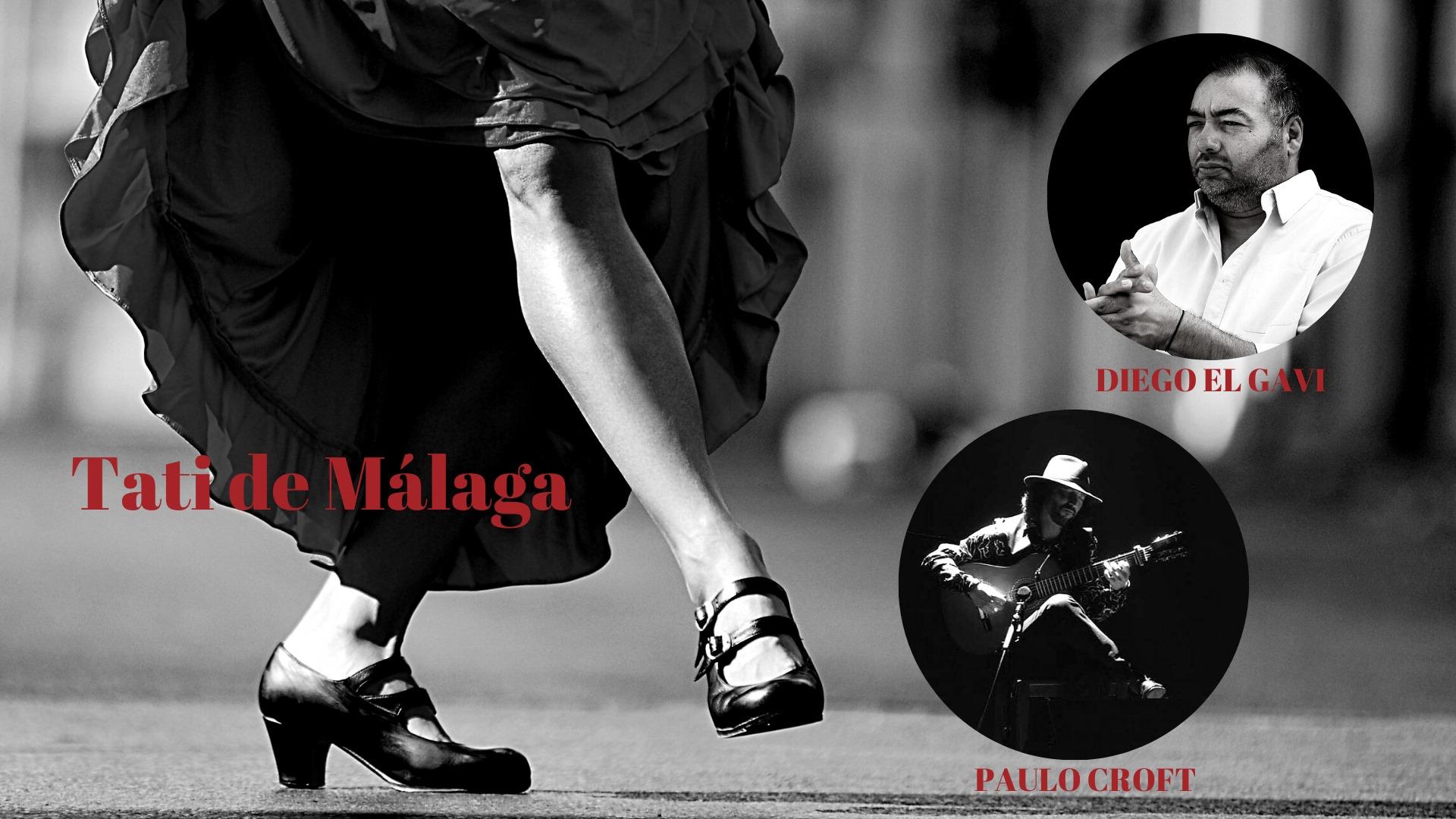 Baile Flamenco: Tati de Málaga convida Paulo Croft e Diego El Gavi