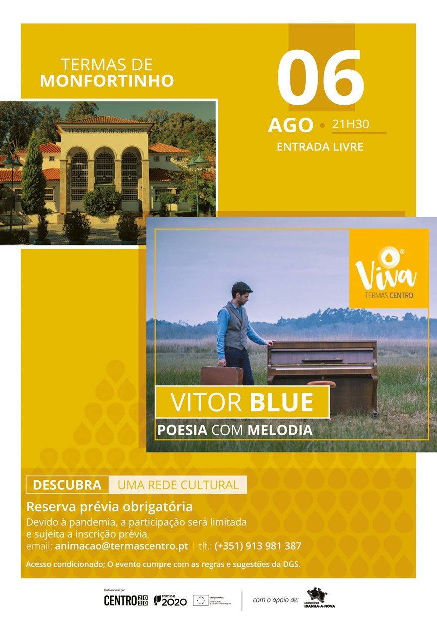 "Vitor Blue ""Poesia com Melodia"""