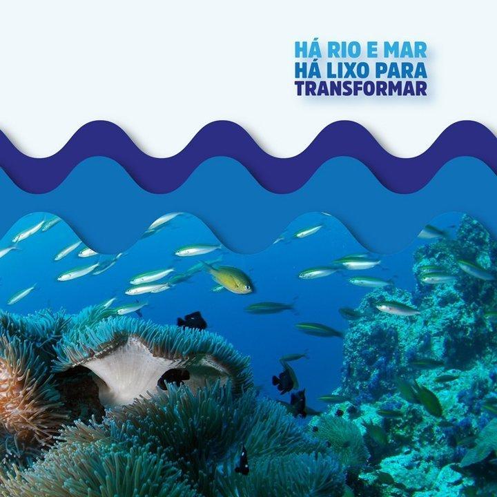 'Há rio e mar, há lixo para transformar'