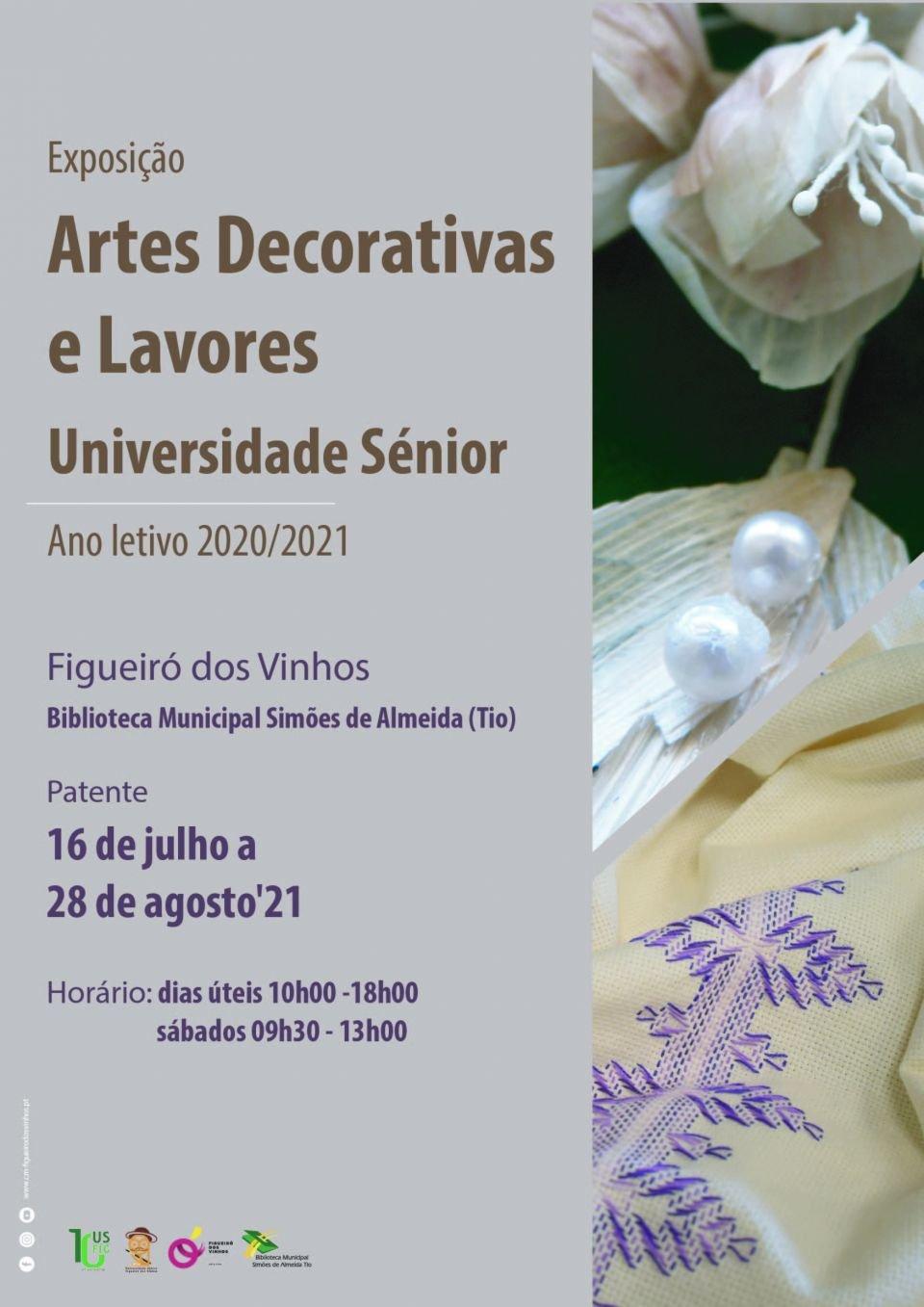 Exposição: Artes Decorativas e Lavores