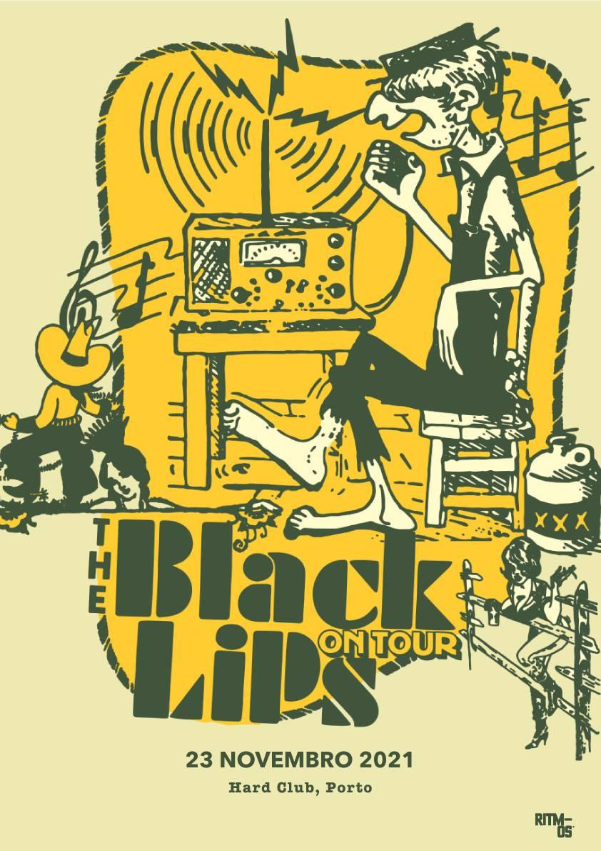 The Black Lips   Hard Club, Porto Portugal