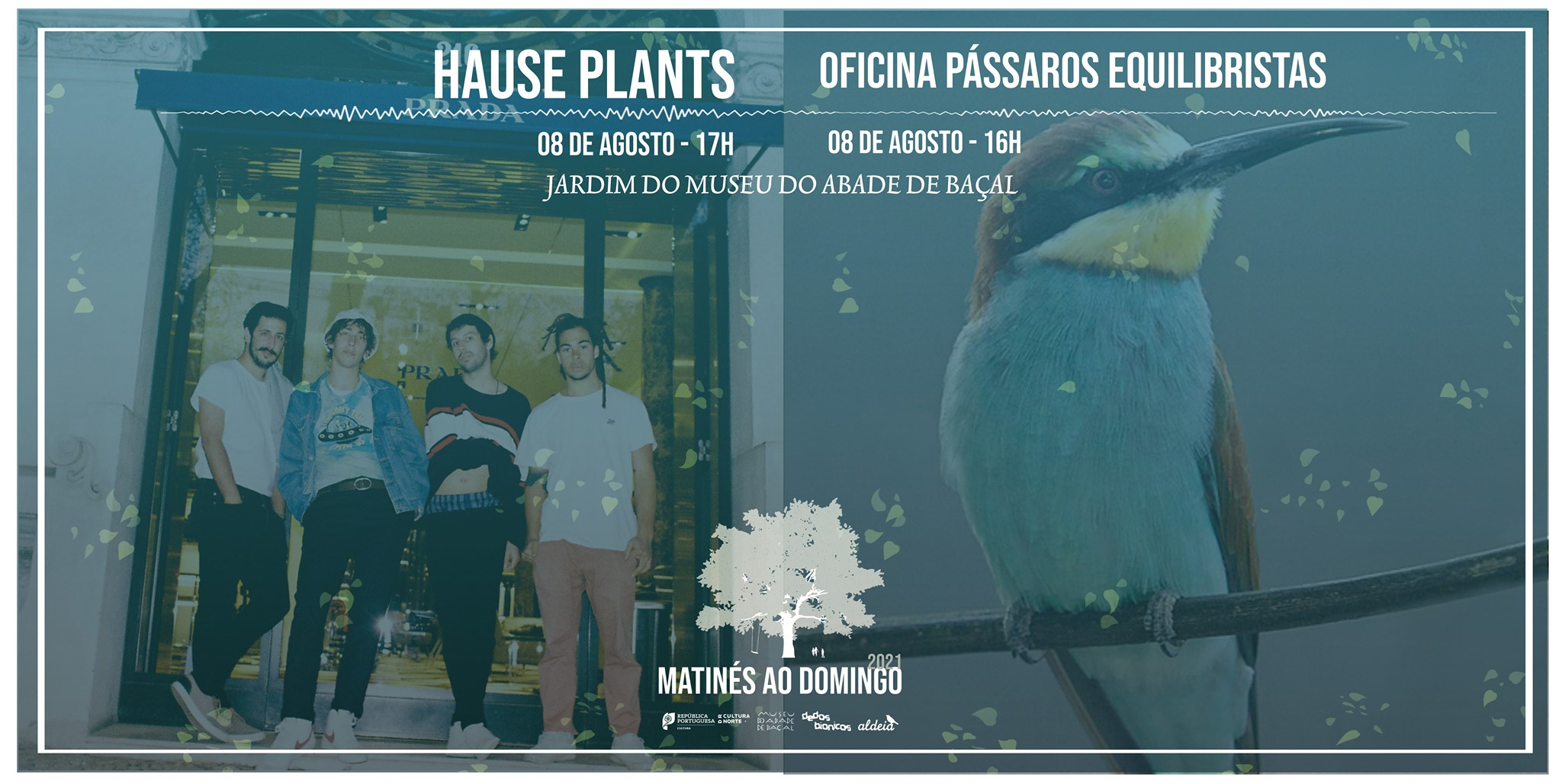 Matinés ao Domingo com Hause Plants + Oficina Pássaros Equilibristas