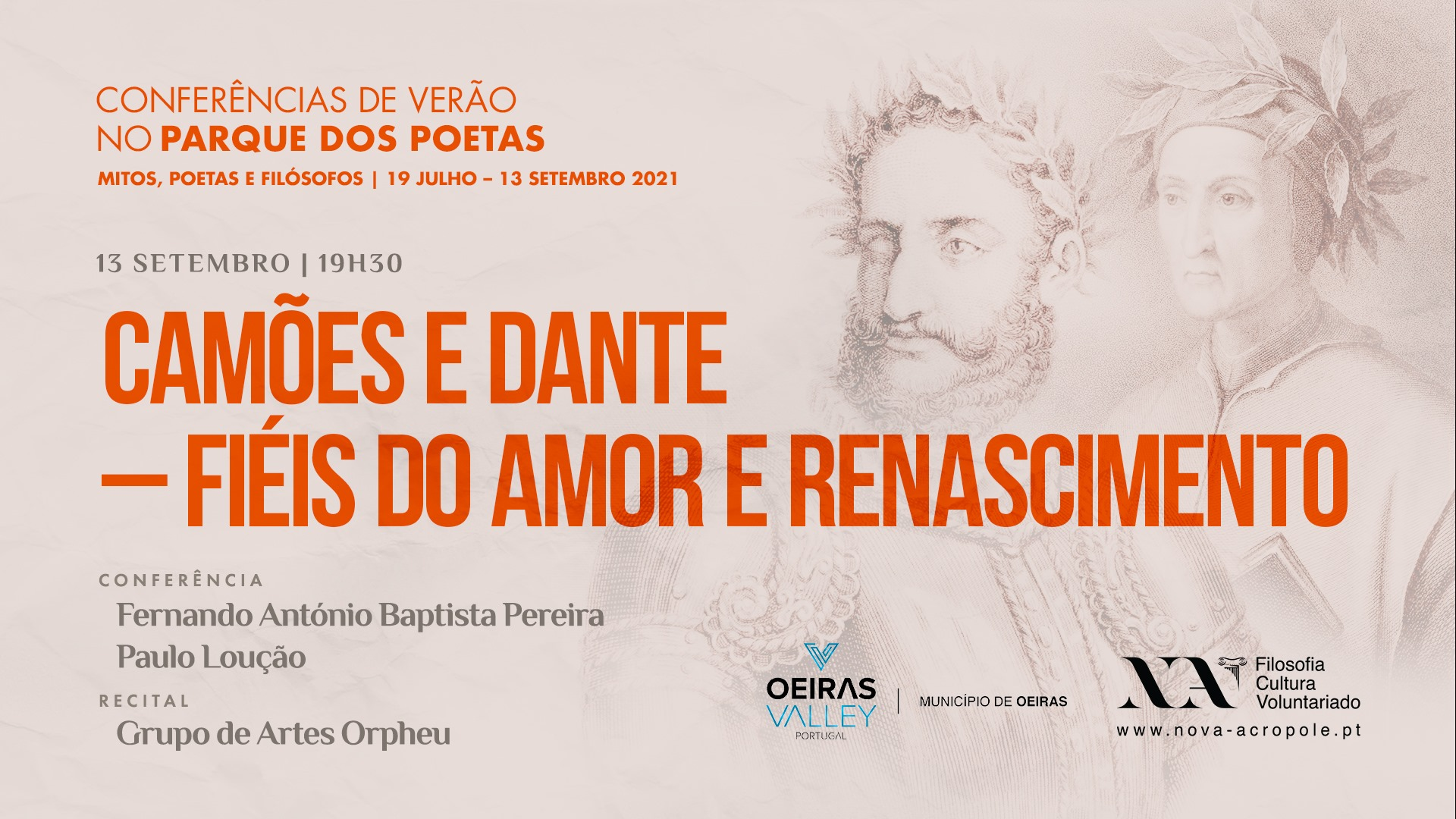 Camões e Dante - Fiéis do Amor e Renascimento