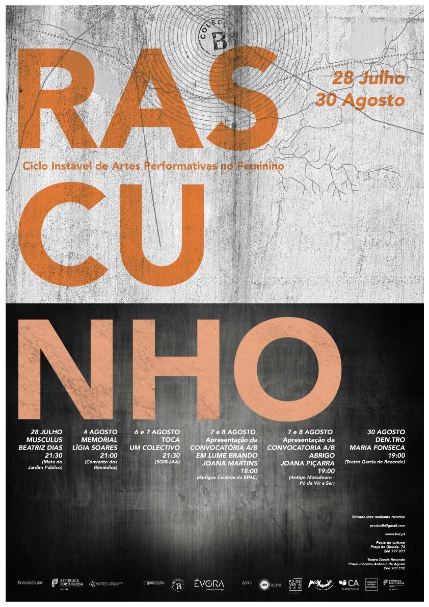 EM LUME BRANDO, por Joana Martins | RASCUNHO – Ciclo Instável de Artes Performativas no Feminino