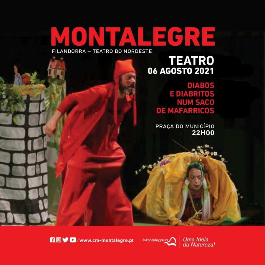 Teatro   'Diabos e Diabritos num Saco de Mafarricos'