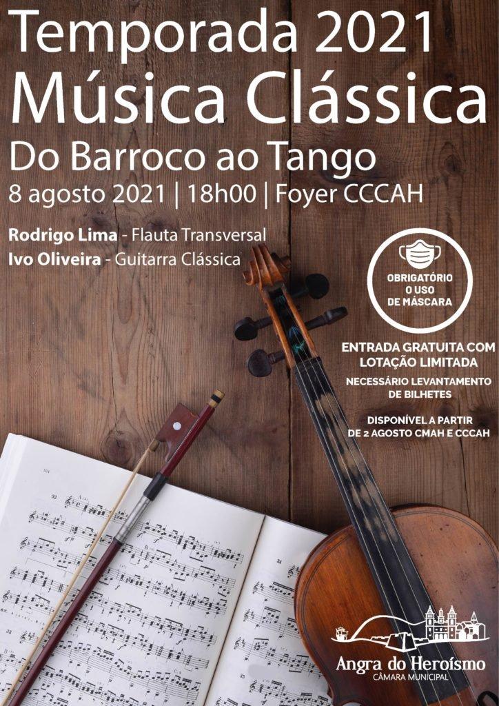 Do Barroco ao Tango  Temporada de Música Clássica 2021