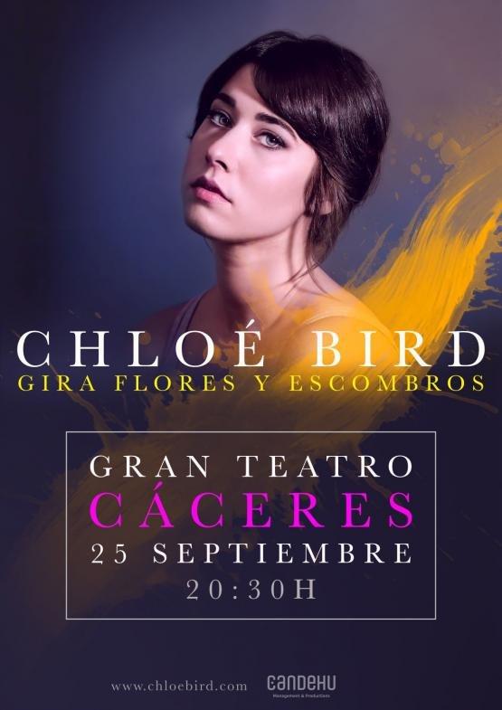 CHLOÉ BIRD, Presentación  FLORES Y ESCOMBROS