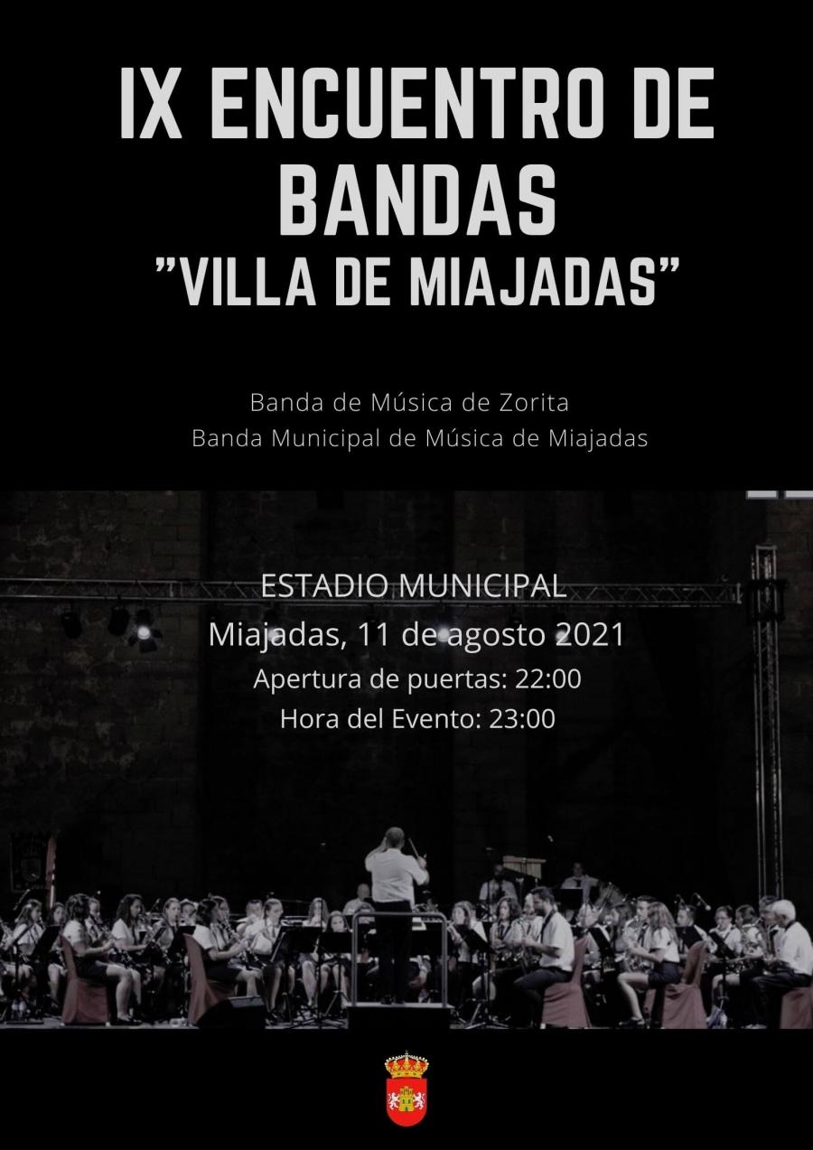 """IX Encuentro de Bandas """"Villa de Miajadas"""""""