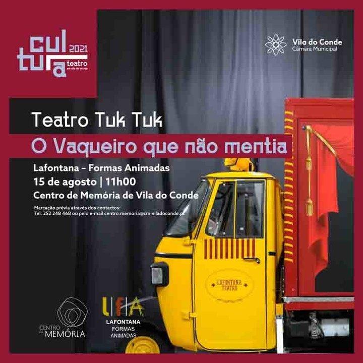 """Teatro Tuk-Tuk: """"O vaqueiro que não mentia"""""""