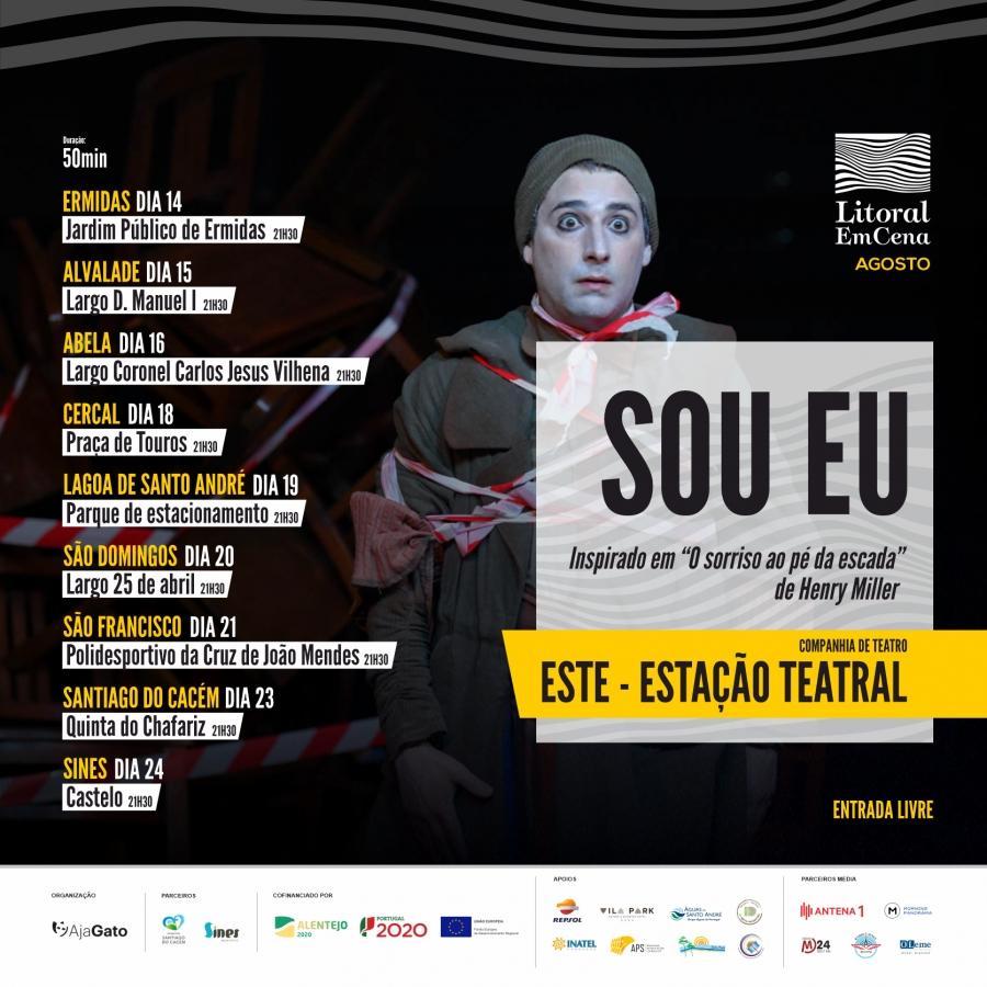 """Litoral EmCena apresenta""""Sou Eu"""""""