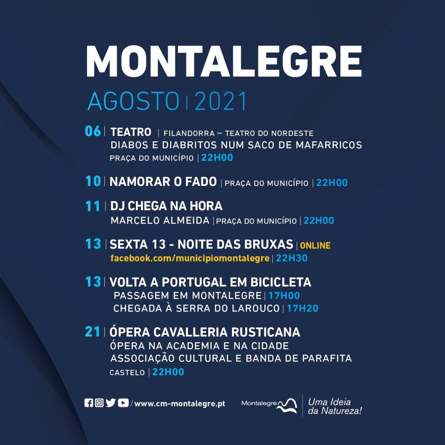 Montalegre   Eventos (Agosto 2021)