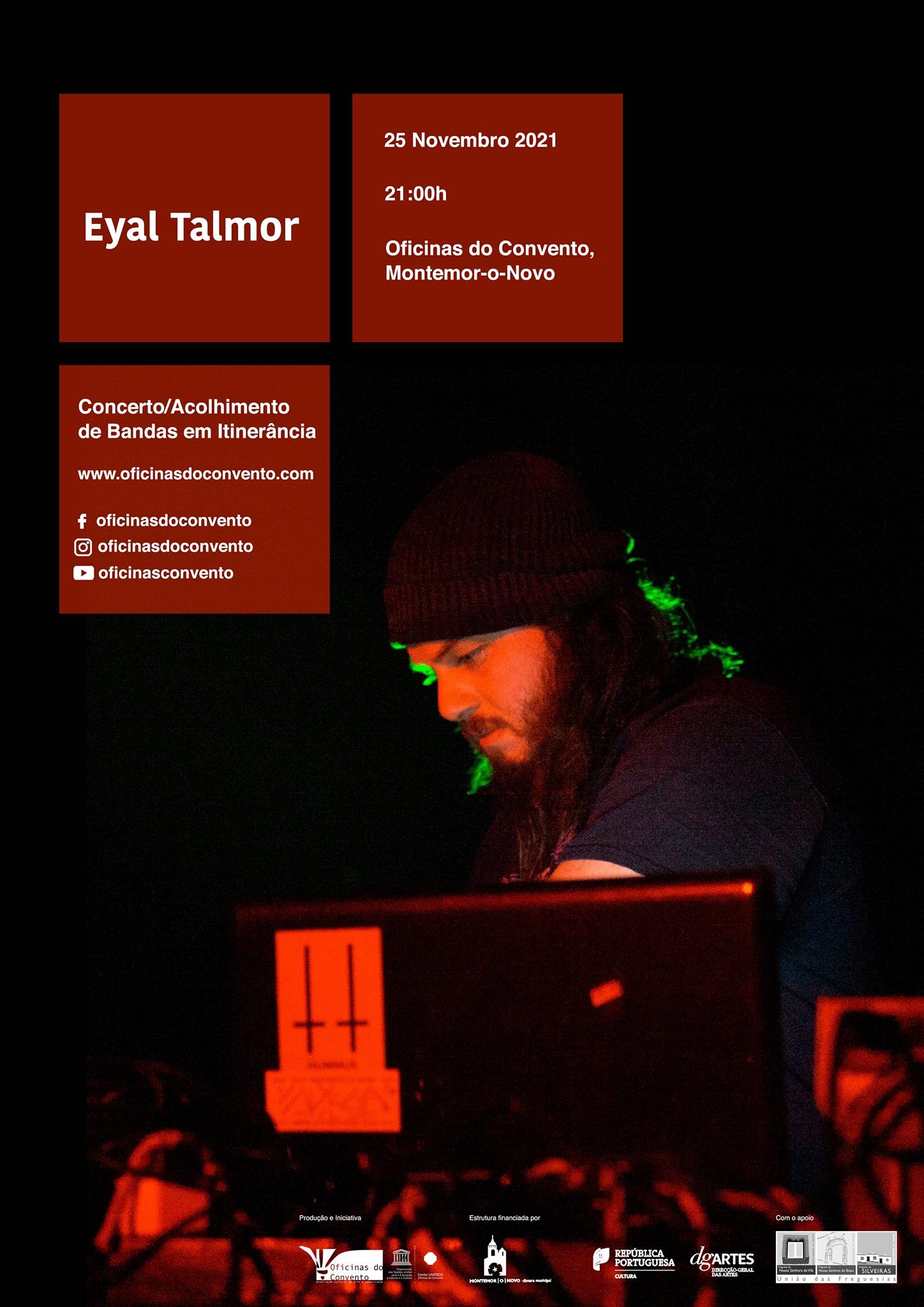 Eyal Talmor na Oficinas do Convento