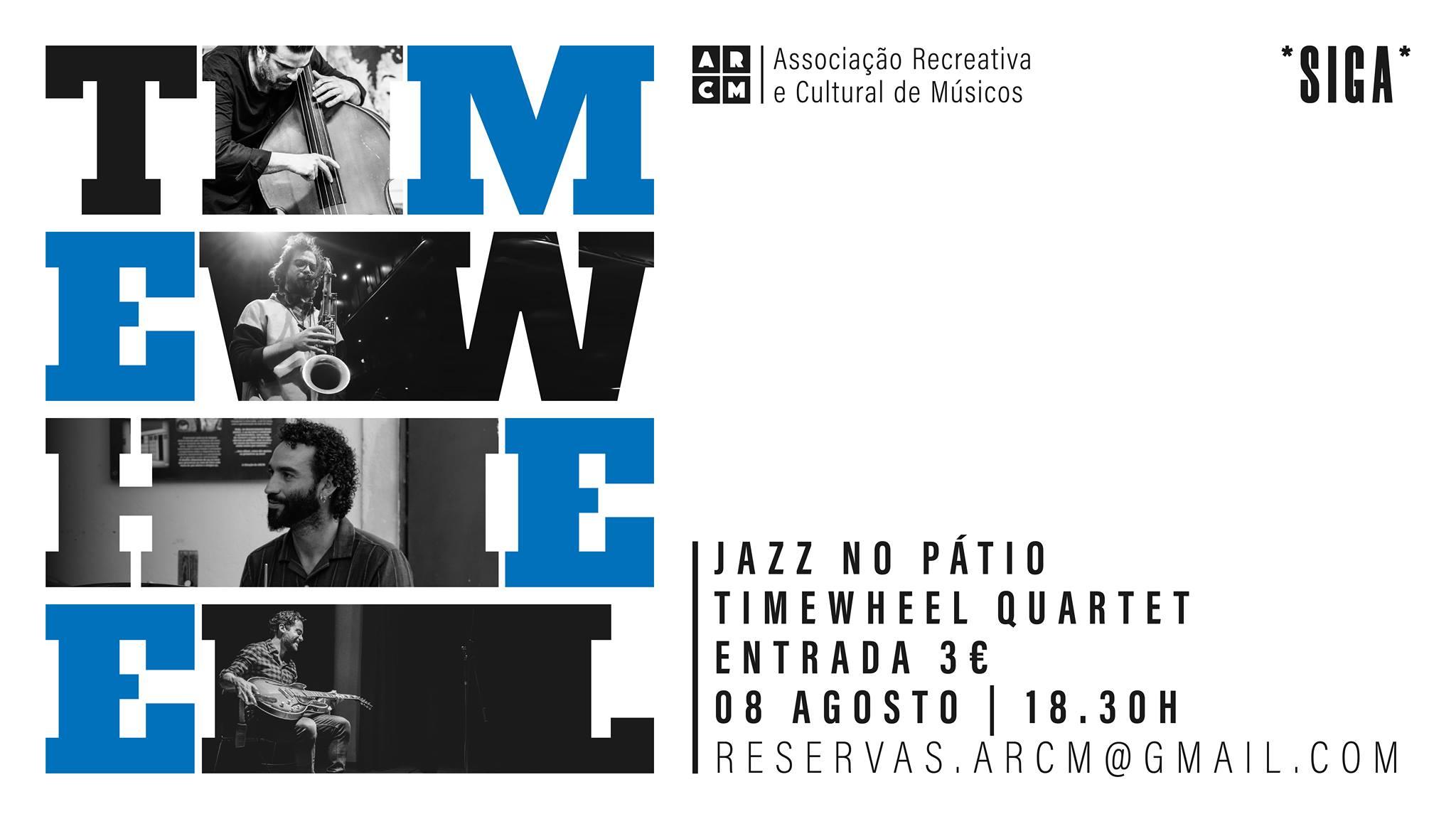 Timewheel Quartet   Jazz no Pátio