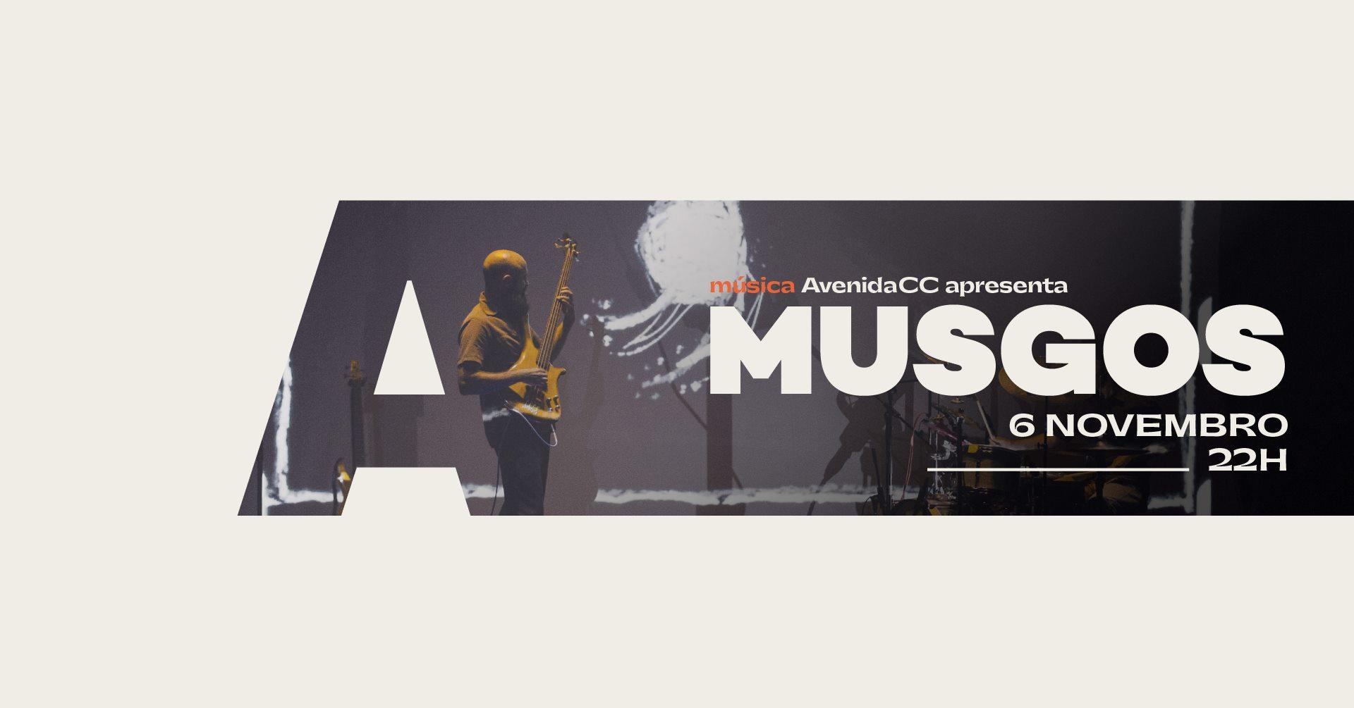 AvenidaCC apresenta Musgos @Avenida Café-Concerto
