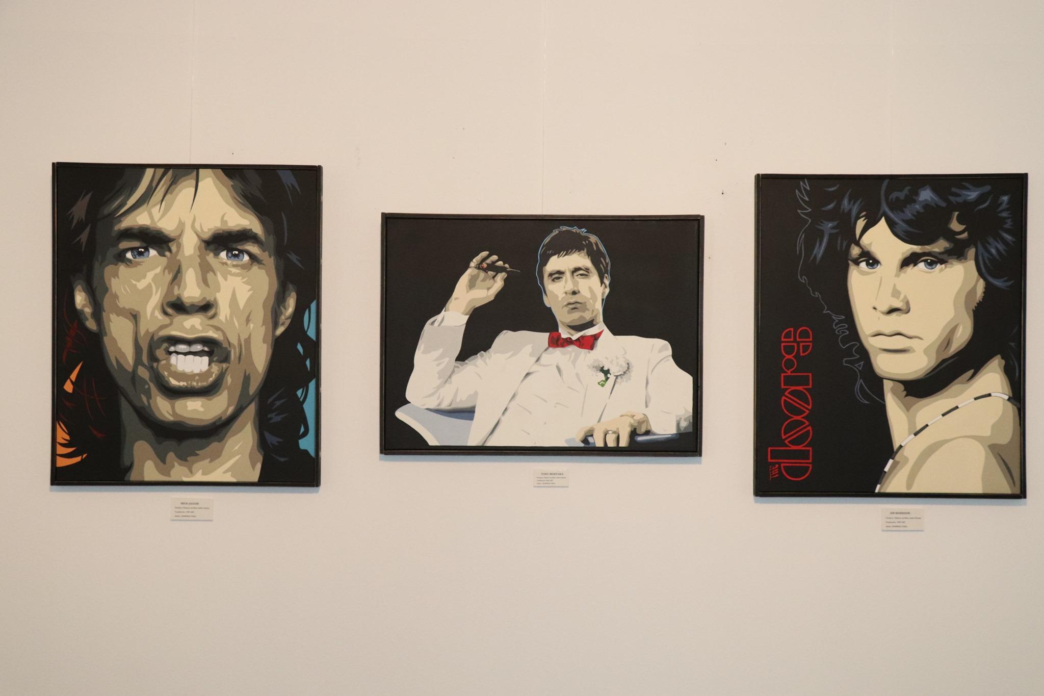 """Exposición """"Iconos Pop"""" de Domingo Vera"""